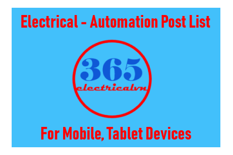 Electrical - Automation Post List | 365electricalvn