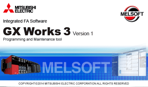 gx works mitsubishi plc software