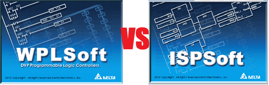 differences between delta ISPSoft vs WPLSoft